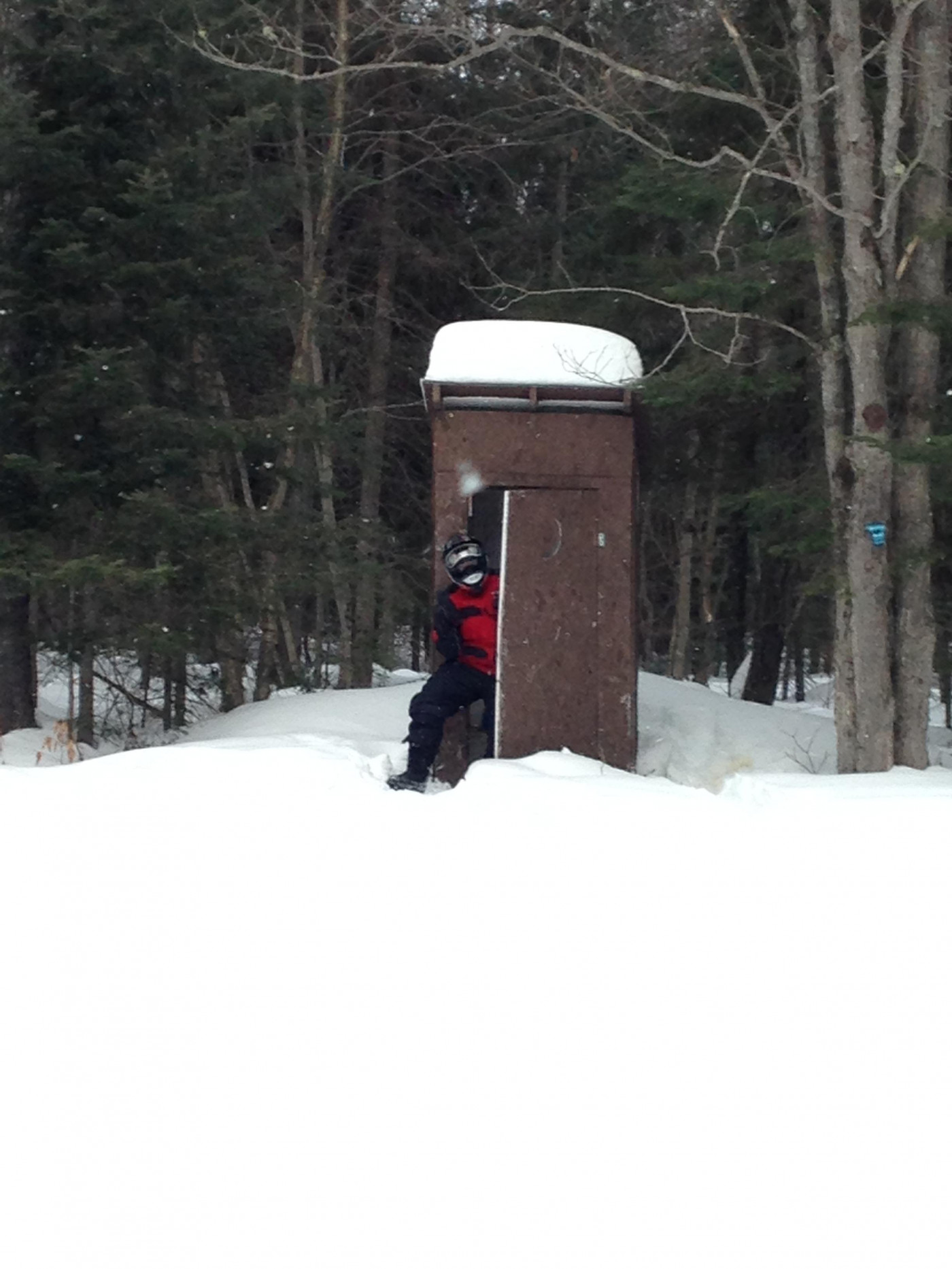 Outhouse Corners... convenient :)
