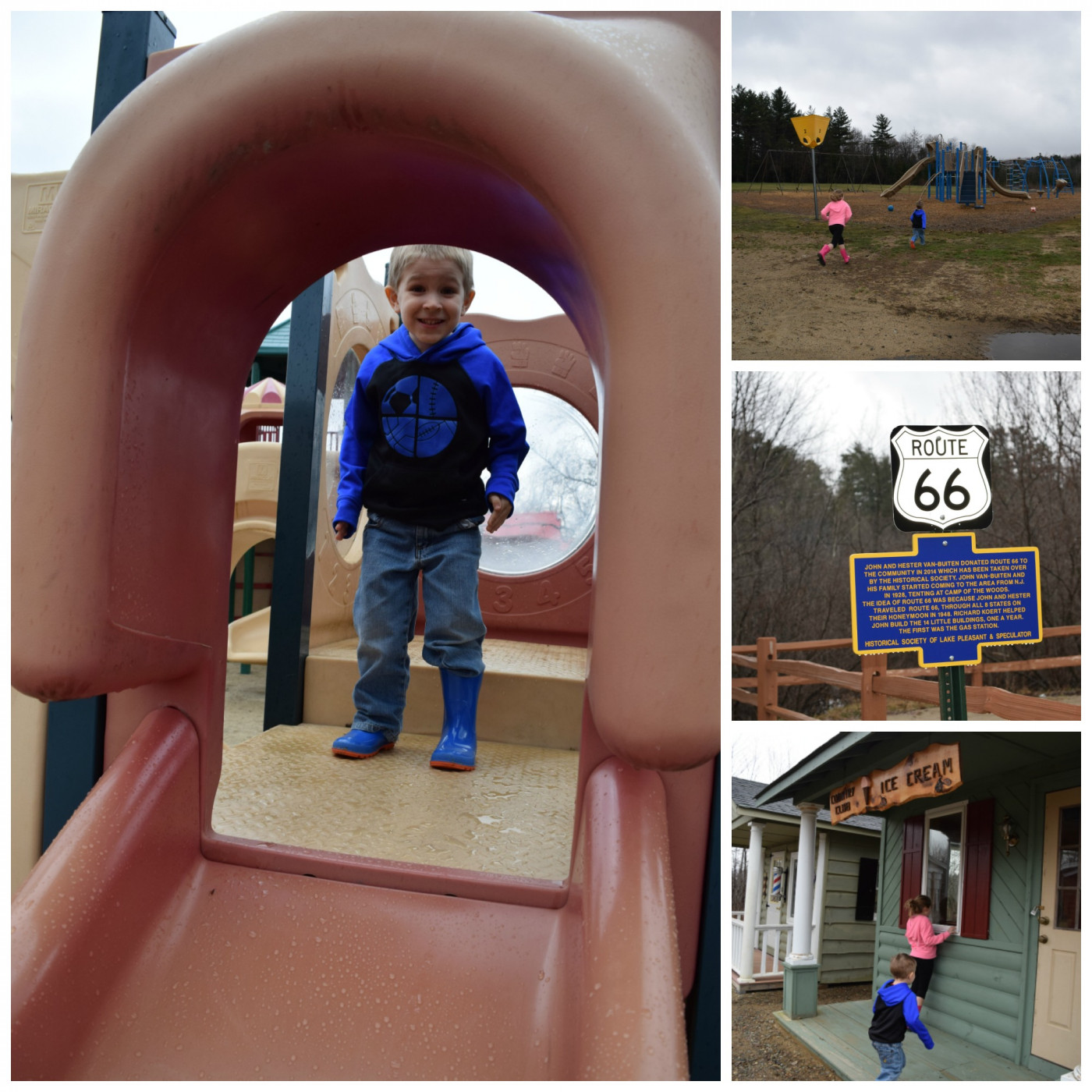 Kids at Speculator Playground