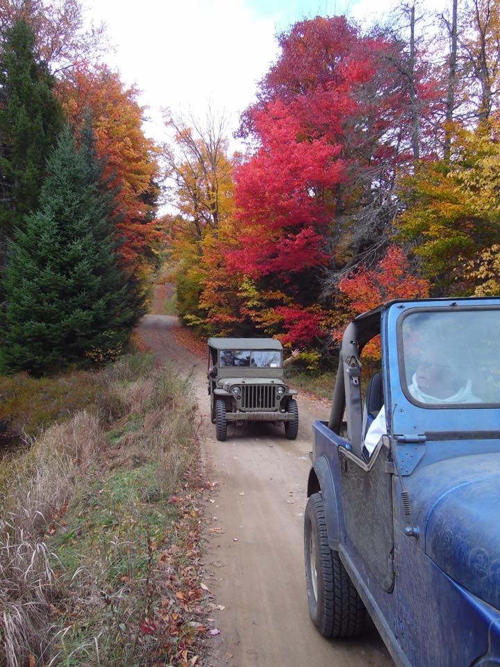 Jeeping Elm Lake Rd