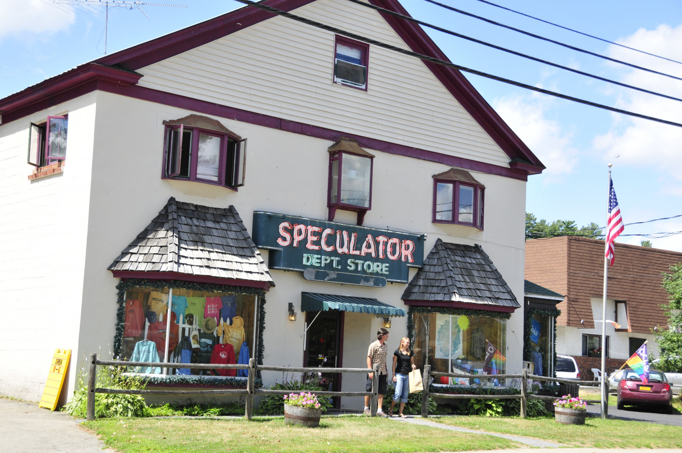 Speculator Department Store Shopping
